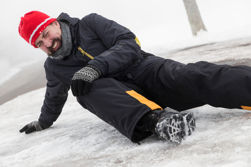 Preventing Outdoor Same-Level Slips, Trips and Falls